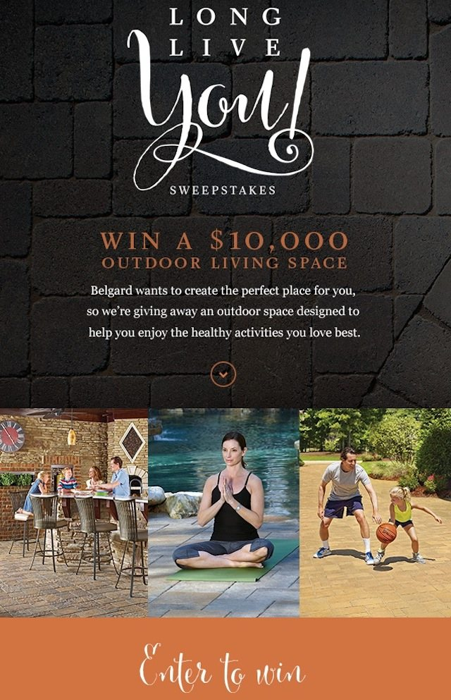 Belgard - Outdoor Living - Long Live You